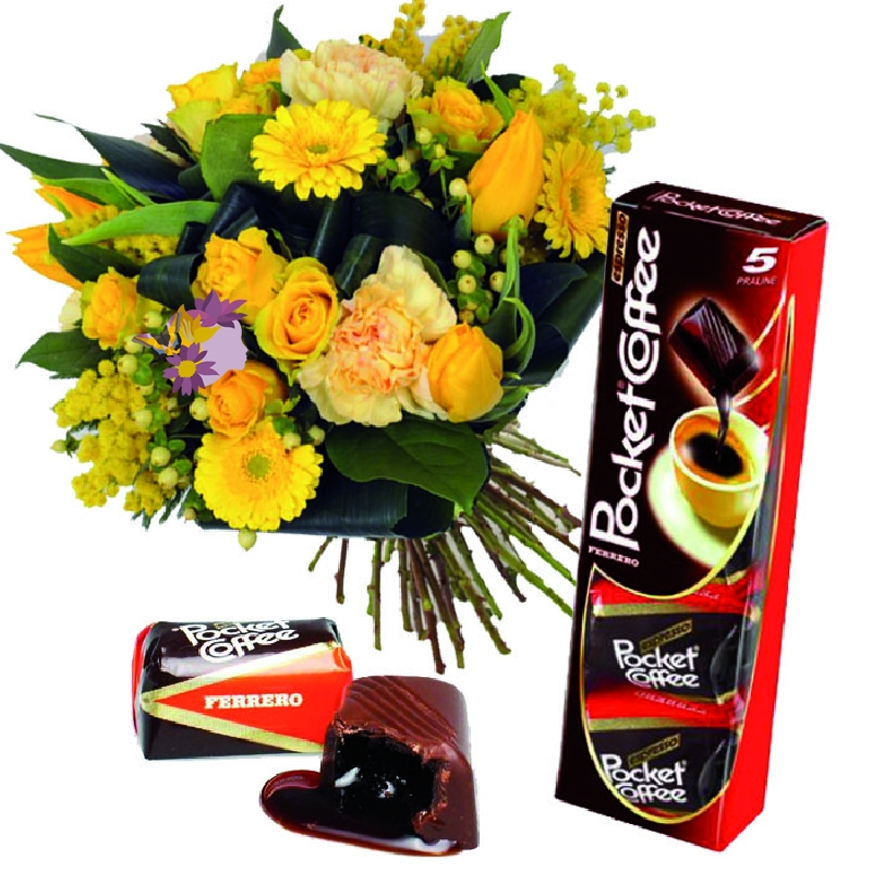 Foto Bouquet e Pocket Coffee